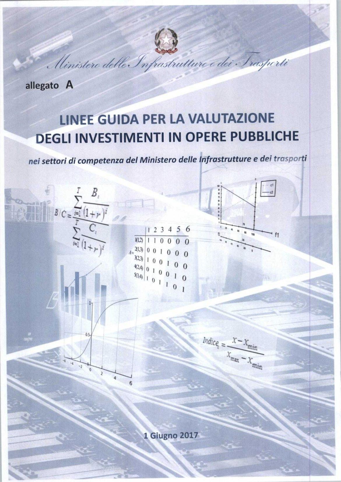 Linee guida per la valutazione degli investimenti in opere pubbliche